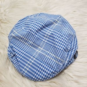JANIE and JACK plaid newsboy cap